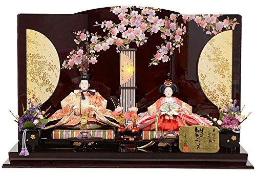 雛人形 親王飾り 平飾り No.302-39   B01NA9TL54