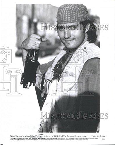 1995 Press Photo Robert Rodriguez writer, director and producer - Bend Desperado