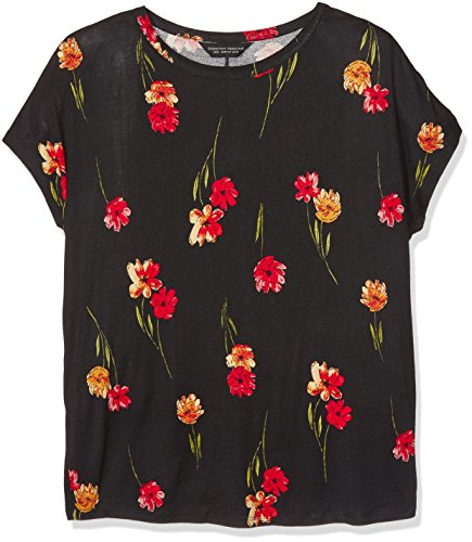 Dorothy Perkins Floral Print Ovoid, Camiseta para Mujer Multicolor (Floral)
