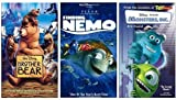 Brother Bear + Finding Nemo + Monsters Inc. VHS