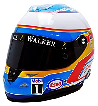 Mini Casco - 70120708 - Cascos F. Alonso - McLaren Honda 2015 - 1/