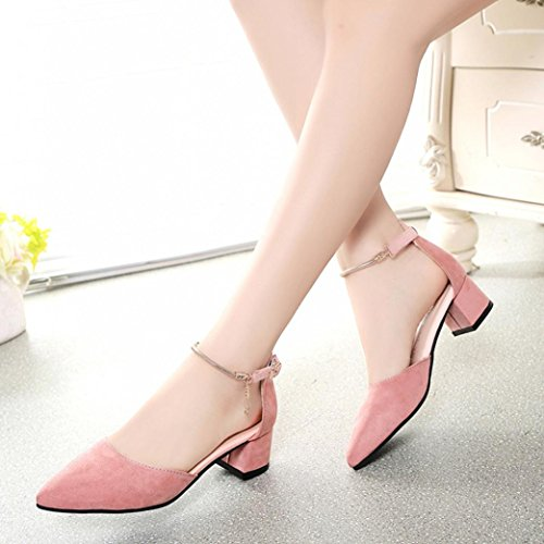 Heels Jamicy High Women Platform Wedge Fashion Summer Shoes Sandals Pink Girls 0prW7Zq0