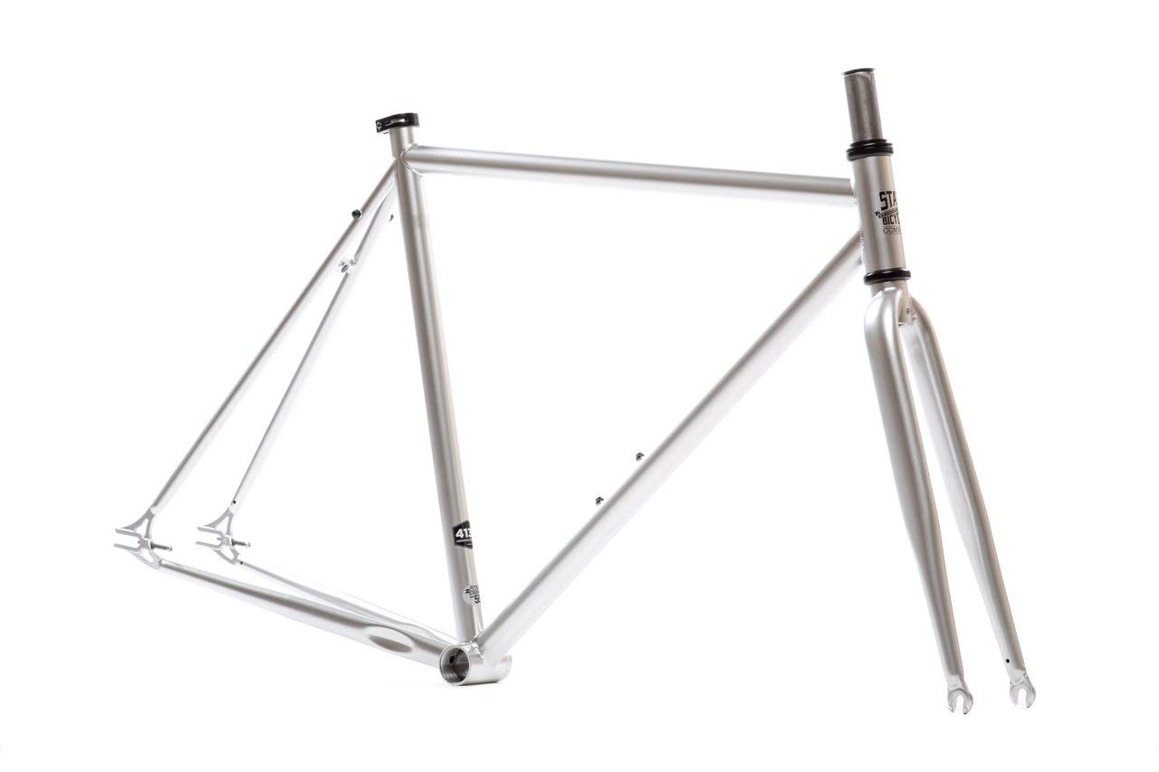 Fixed Gear Fixie Chromoly Frame and Fork Set State Bicycle Co