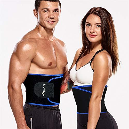 Sweat Waist Trimmer Belt, Adjustable Waist Trainer Now $4.49 (Was $15.99)