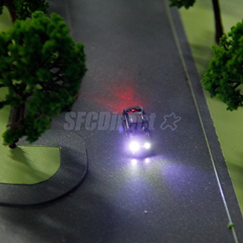 shalleen-10-model-painted-auto-cars-w-lights-train-architecture-parking-scene-z-scale-2