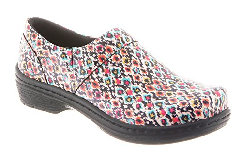 KLOGS Back Test Clog Footwear Nursing Women's Patent Mission Closed Blot Z4IrZqw