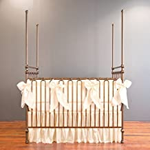 Bratt Decor serafina 3 piece crib bedding set cream