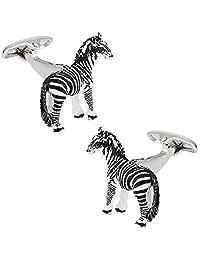 Cuff-Daddy Zebra Cufflinks