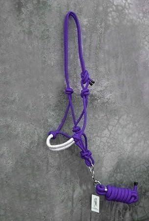 PP Horse Rope Halter Control Head collar Natural Horsemanship, Free shipping