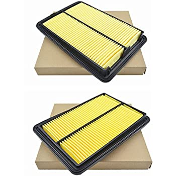2pcs Replacement Engine Air Filter for Nissan Infiniti 16546-30P00 AY120-NS022
