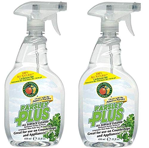 Parsley Spray Cleaner - Earth Friendly Products 22 oz. Trigger Spray Parsley Plus All-Purpose Kitchen-Bathroom Cleaner (2)