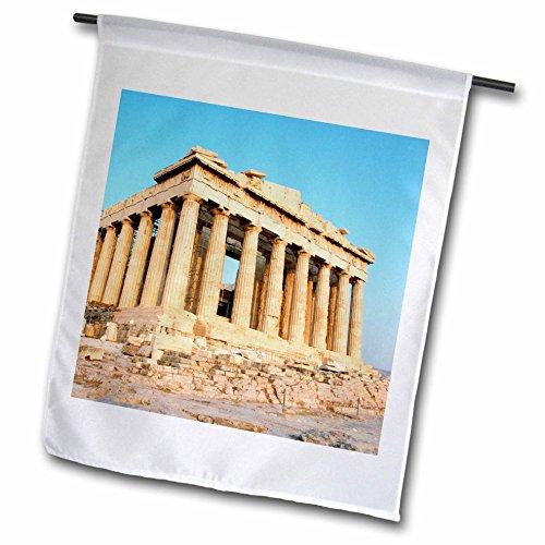 3dRose fl_81845_1 Parthenon, Ancient Architecture, Acropolis, Athens, Greece-Eu12 Pri0107-Prisma Garden Flag, 12 by 18-Inch