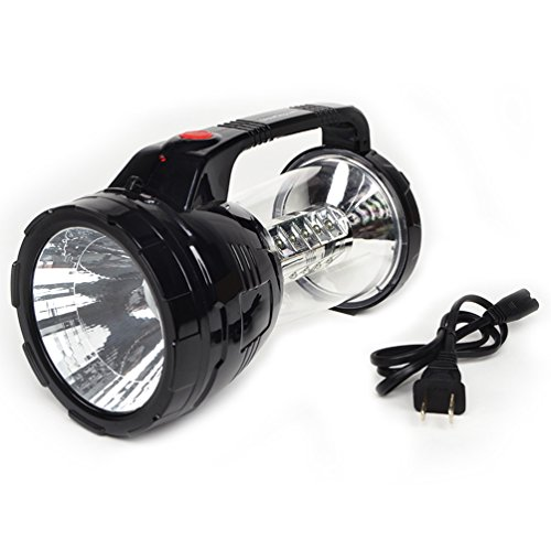 GlowCity Two in One LED Camping Lantern and Flashlight|Solar Power Charging Option