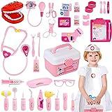 Gifts2U Toy Doctor Kit, 37 Piece Kids Pretend