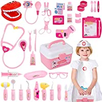 Gifts2U Toy Doctor Kit, 37 Piece Kids Pretend Play Toys Dentist Medical Role Play...