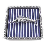 Mariposa Marlin Beaded Napkin Box