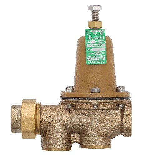 Watts 25AUB-Z3 Pressure Reducing Valve, 3/4""