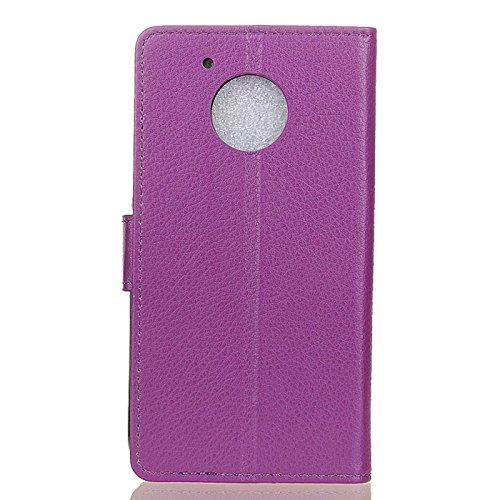 Find box MOTO E4 Case,MOTO E (4th Gen) Cover,[Card Slots][Wallet] PU Leather Folio Flip Kickstand Protective Cover Case & Magnetic Closure for MOTO E4 / MOTO E 4th Gen (2017 Release) [Purple]