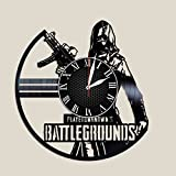 Olha Art Design PlayerUnknown_s Battlegrounds vinyl clock PUBG wall decor PUBG wall poster PUBG womans day gift idea pubg videogame pubg best gift idea