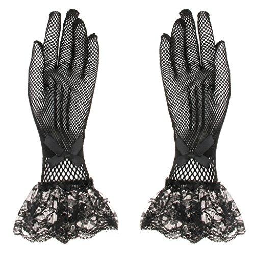 Perfk 高級 ウェディング 長手袋 グローブ レース レディース 衣装 宴会 結婚式 通気性 快適 全2色