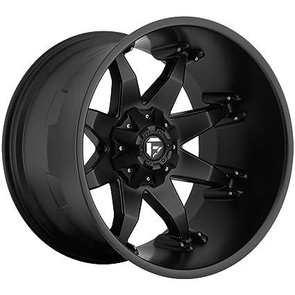 Fuel Rims 20X12 >> Amazon Com Fuel Octane Black Wheel 20x12 Automotive