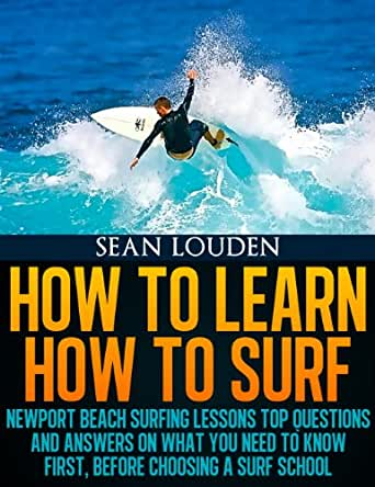 Amazon.com: How To Learn How To Surf