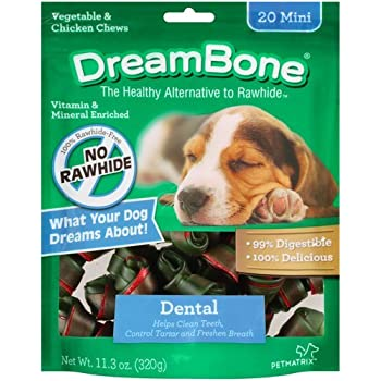 Amazon.com : DreamBone Vegetable & Chicken Dog Chews