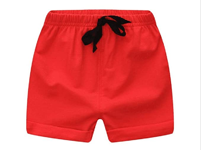 HAXICO Toddler Baby Boys Summer Knee Length Solid Cotton Candy Sport Shorts Kids Harem Pants