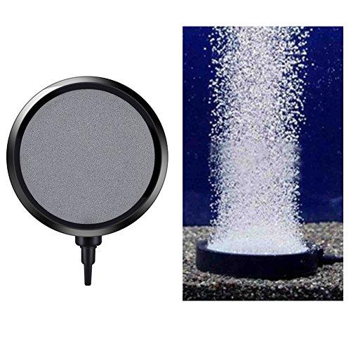Yosoo Acuario burbuja disco/difusser de aire para Fish Tank Koi Pond 10.7cm Bomba para estanque, cultivos hidropónicos...
