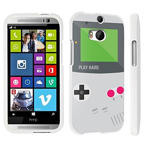 M8 Hard Case White - (Gameboy Grey) ()