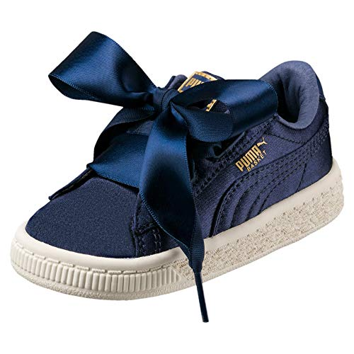 Scarpe Heart Inf Basket Infant Blu Puma Sportive Tween qTR4w5AX