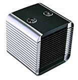 Quiet Ceramic Space Heater 750W/1500W ETL Listed with Adjustable Thermostat, Normal Fan and Safety Tip Over Switch