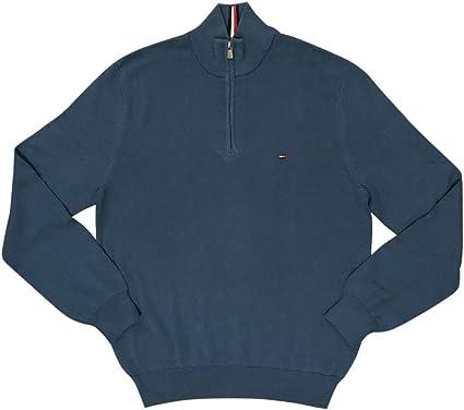 Tommy Hilfiger Polar Fleece Mock Sweatshirt Sweat-Shirt Gar/çon