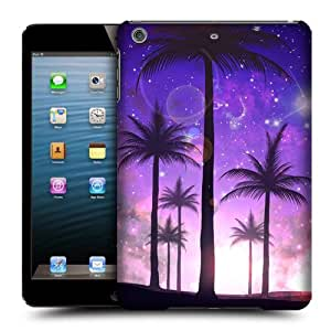 Head Case Designs Purple Summer Silhouettes Protective Snap-on Hard Back Case Cover for Apple iPad mini with Retina Display