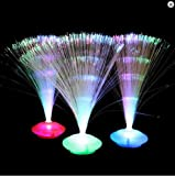 LED Fiber Optic Centerpiece - 12'' UFO Centerpiece (4 pack) (Multi-colored)