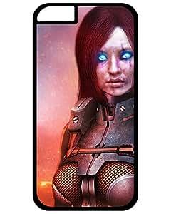 2015 iPhone 6, Ultra Hybrid Hard Plastic iPhone 6 Case Skin, Design Mass Effect 3 Cerberus Nemesis Unmasked Photo Phone Accessories 9898660ZB540450298I6