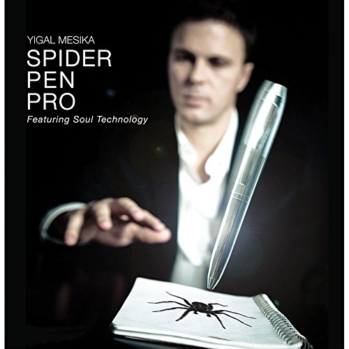 Murphy's Magic Spider Pen Pro (with DVD) by Yigal Mesika - DVD (Spider Pen Pro By Yigal Mesika)