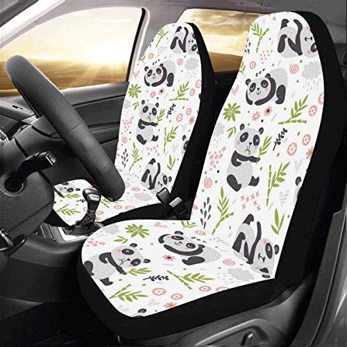 panda bear seat covers - 2