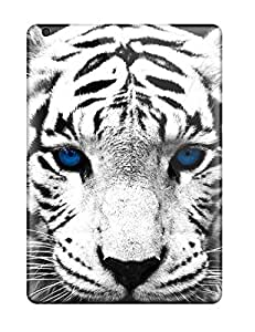 New Cute Funny Blue Eyed Tiger Cases Covers/ Ipad Air Cases Covers