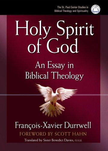 Read Online The Holy Spirit of God: An Essay in Biblical Theology pdf epub