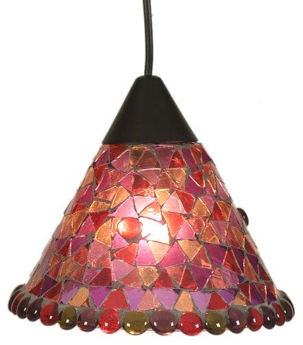 Näve 664001 - Lámpara de techo colgante con mosaico, Ø 19 cm ...