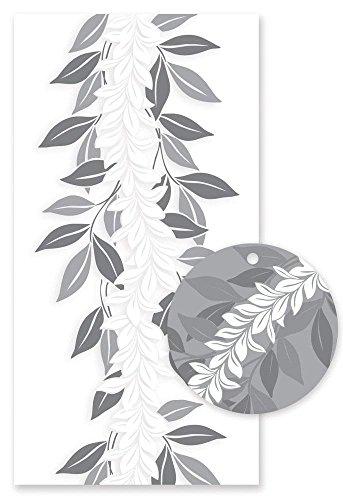 Hawaiian Candy Lei Kit Maile Lei Silver ()