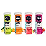 Best Electrolyte Drinks - GU Energy Hydration Electrolyte Drink Tablets, Assorted Flavors Review