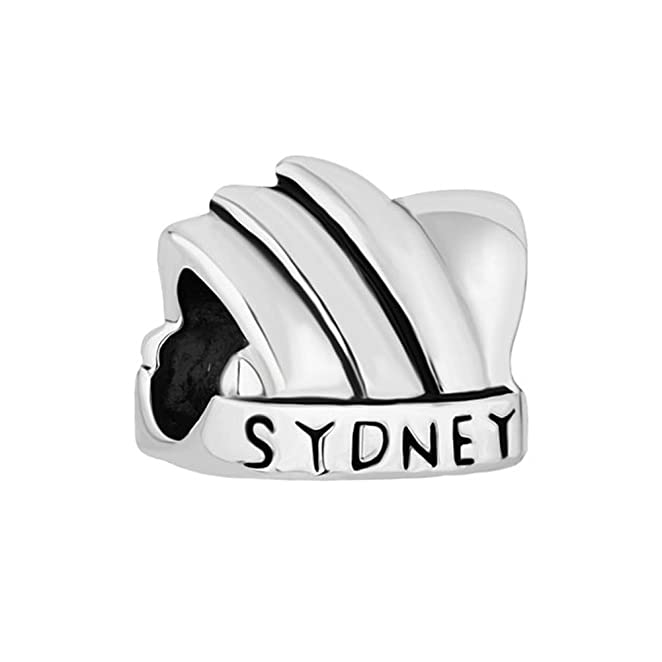 Love Travel Charms Australia Sydney Opera House Jewellery Beads Fit Pandora  Charm Bracelets: Amazon.co.uk: Jewellery