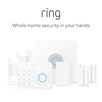 Ring Alarm 8 Piece Kit – Home Security System with optional 24/7 Professional Monitoring – No long-term contracts – Works with Alexa