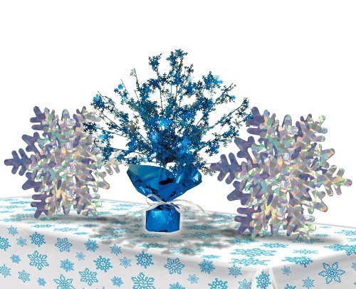 Disneys Frozen Snowflake Decorations Table Set -