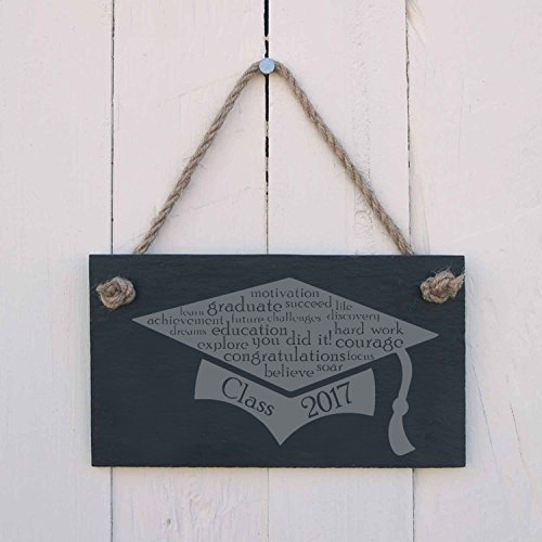 hanging-SIGN Class 2017 Cap - a fun present for a graduation or school leavers