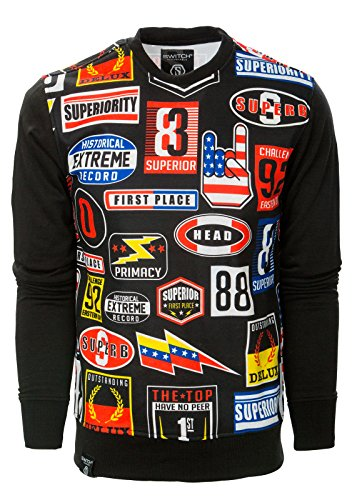 mens-hipster-nascar-extreme-long-sleeves-crew-neck-t-shirts