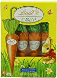 Lindt Chocolate Carrots, Solid Milk Chocolate with Hazelnut, 1.9 Oz (Pack of 2)