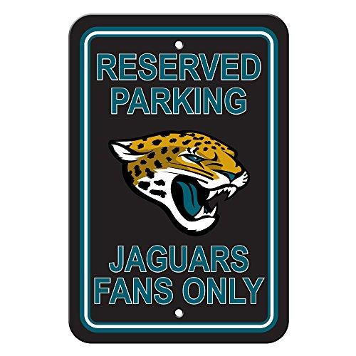Fremont Die NFL Jacksonville Jaguars Plastic Parking Sign